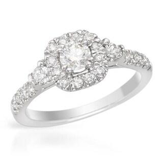 14K White Gold 0.75ct TW Diamond Ring