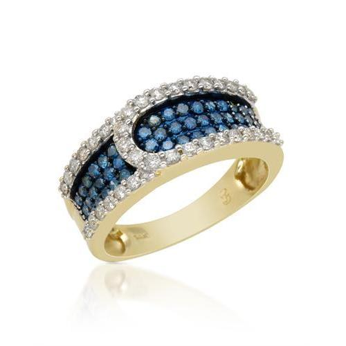 Ring with 1ct TW Diamonds in 14K Yellow Gold
