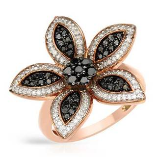 Ring with 1ct TW Diamonds in Rose Gold