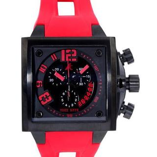 Men's AK7115-MIP Red Rubber Chronograph Watch