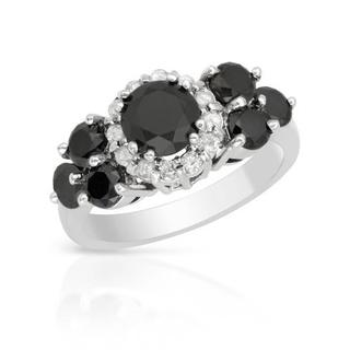 Ring with 2.74ct TW Diamonds of 14K White Gold