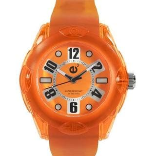 Tendence Men's Orange Rubber Watch