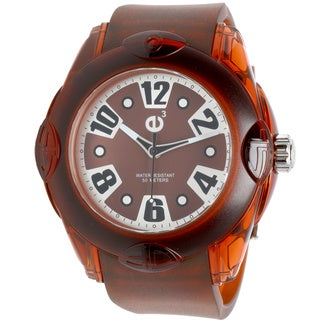 Tendence 02013044 Orange Rubber Watch