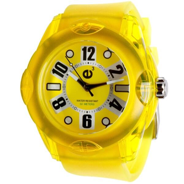 Tendence 02013044 Orange Rubber Watch