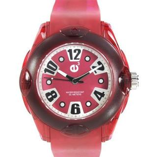 Tendence Unisex Red Rubber Watch