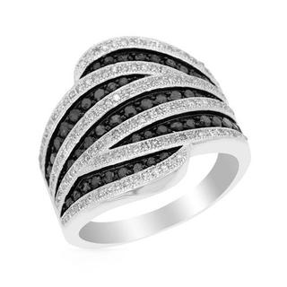 Ring with 1.1ct TW Diamonds in White Gold