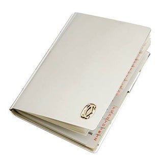 Pre-owned Cartier Silver .925 Sterling Silver Memo Pad Holder