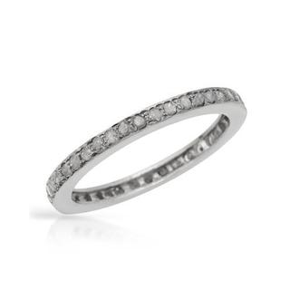 Ring with 1.20ct TW Genuine Diamonds in 925 Sterling Silver