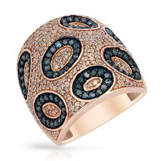 Ring with 1.65ct TW Diamonds in Rose Gold