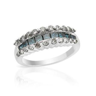 Ring with 1 1/2ct TW Diamonds in 14K White Gold