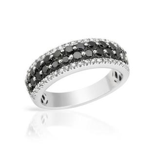 Ring with 1.1ct TW Diamonds 14K White Gold