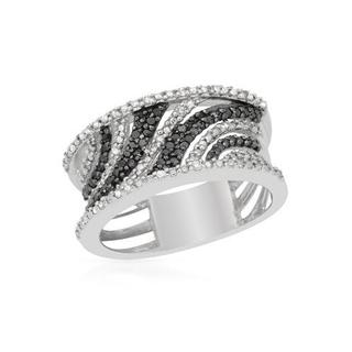 Ring with 0 1/2ct TW Diamonds .925 Sterling Silver