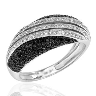 Vida Ring with 0.6ct TW Diamonds in 14K White Gold (Size 6.5)
