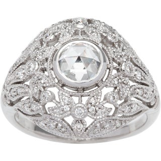 Ring with 1.16ct TW Diamonds 18K White Gold