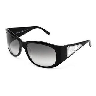Women's BLUMARINE Sunglasses With Genuine Crystals