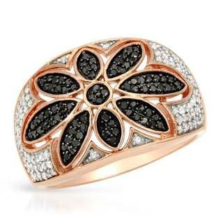 Ring with 0.6ct TW Diamonds in Rose Gold
