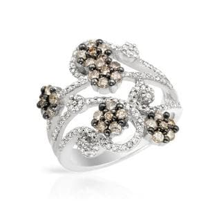 Ring with 1.14ct TW Diamonds 14K White Gold