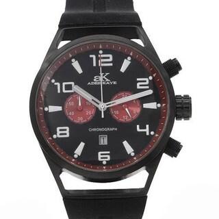 Men's AK-7232-M Black Rubber Chronograph Watch