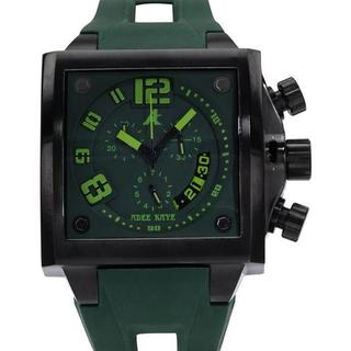 Men's AK7115-MIP Green Rubber Chronograph Watch