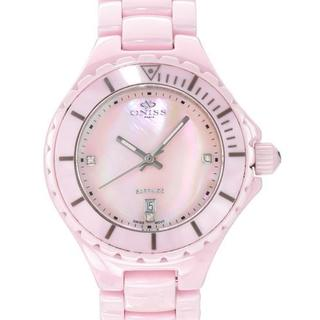 Women's ON8011-L Pink Ceramic Watch
