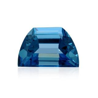 London Blue Topaz 52.43ct TW Fancy-cut 27x17mm