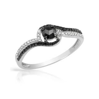 Vida Ring with Diamonds 14K White Gold