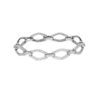 14K White Gold 3.67ct TW Diamonds Bracelet