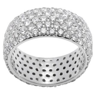 14K White Gold 4.04ct TW Diamond Ring