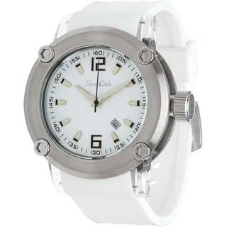 Men's CHAMP White Rubber Watch