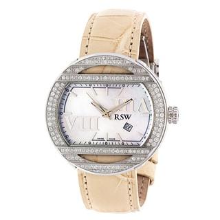 Women's RSW 6640.MS.A5.21.F1 Beige Leather Swiss Watch