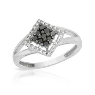 Ring with Diamonds in 14K White Gold