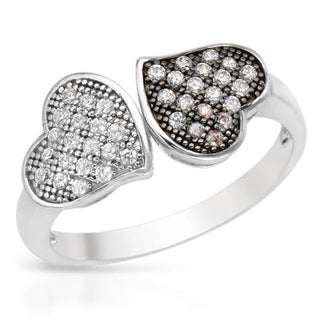 Heart Ring with Cubic Zirconia .925 Sterling Silver