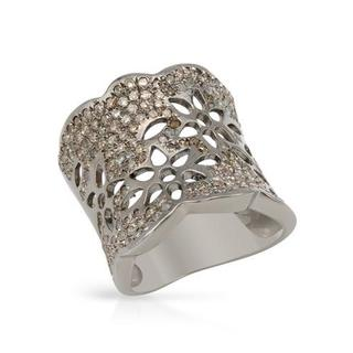 Ring with 1.82ct TW Diamonds Crafted in 925 Sterling Silver