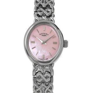 Rotary Women's Silver Metal Watch