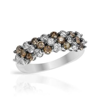 Ring with 1.7ct TW Diamonds Crafted in 14K White Gold