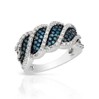 Ring with 1ct TW Diamonds 14K White Gold