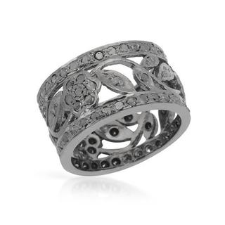 Ring with 2.01ct TW Diamonds in .925 Sterling Silver