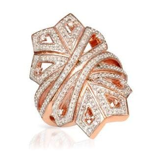 Ring with 0.85ct TW Diamonds in Rose Gold