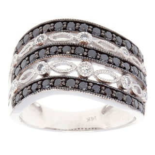 Ring with 1.05ct TW Diamonds in 14K White Gold