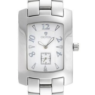 Croton Men's CN307415BKBK Silver Stainless Steel Watch