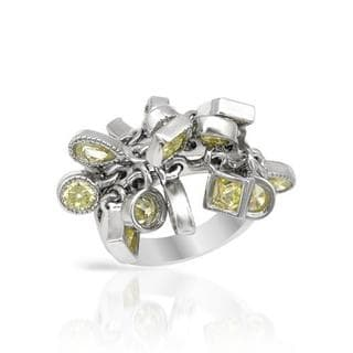 Ring with Cubic Zirconia .925 Sterling Silver