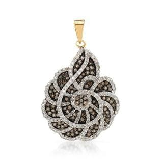 Pendant with 1.45ct TW Diamonds in Yellow Gold