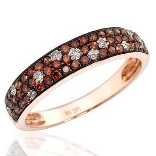 Vida Ring with Diamonds 14K Rose Gold