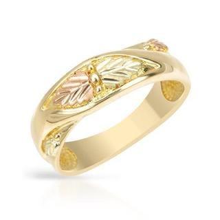 Black Hills Gold Tri-tone Gold Ring