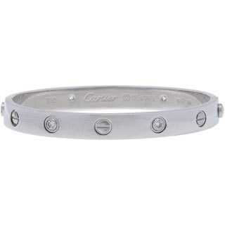 Pre-owned Cartier Preowned Bracelet in 18K White Gold