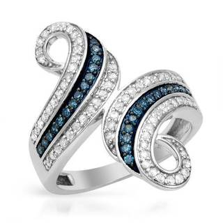 Ring with 0 3/4ct TW Diamonds in White Gold