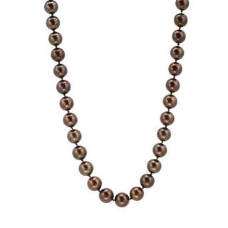 Necklace with Diamonds/ 85 11mmSouth Sea Pearls 14K Yellow Gold