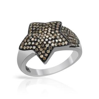 Ring with 0.7ct TW Diamonds in .925 Sterling Silver