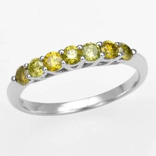Ring with 0.55ct TW Diamonds of White Gold