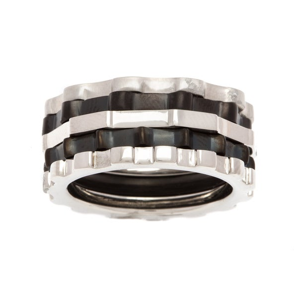 BK-Up by Baraka Italy Ring Stainless Steel